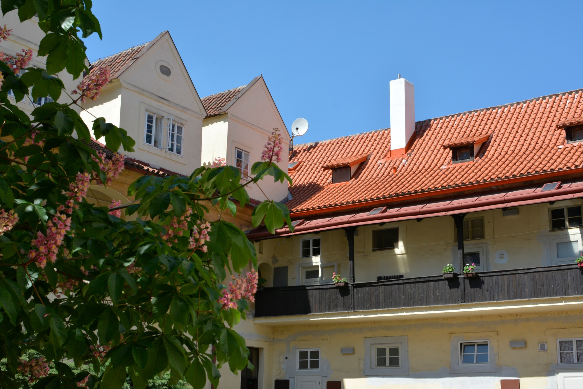 Accommodation in a private apartment in the Prague's historical center